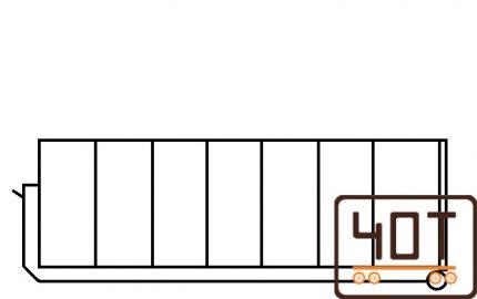 24 m 3 Konteineris, kablio tipo konteineris, hooklift konteineris, konteineris zvyrui, konteineris akmenims, konteineris smeliui, kebulas, kuzavas, platforma, 40t sunkioji technika3